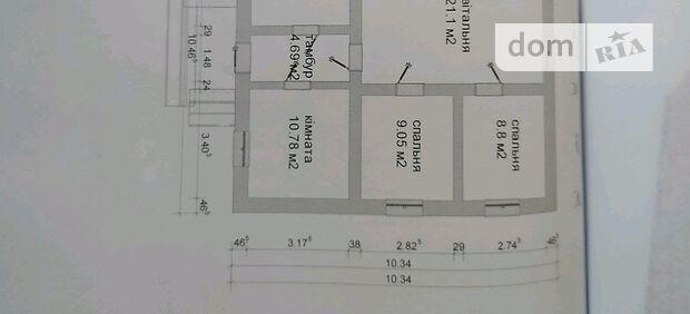 одноэтажный дом, 75 кв. м, кирпич. Продажа в Переселении (Киевская обл.) фото 1