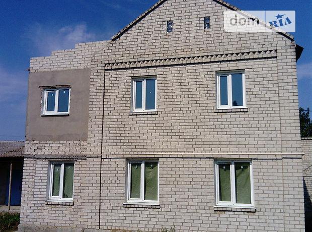 двухэтажный дом с балконом, 200 кв. м, кирпич. Продажа в Любимовке (Херсонская обл.) фото 1