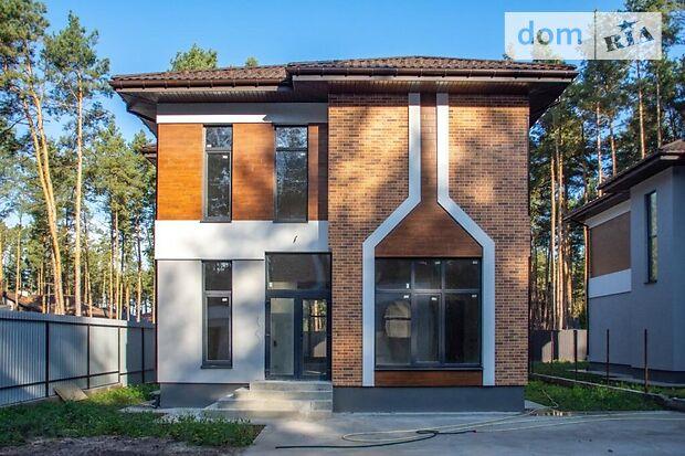 двоповерховий будинок з терасою, 215.63 кв. м, пеноблок. Продаж в Києві, район Бортничі фото 1