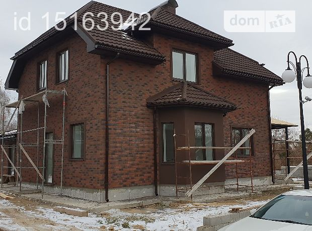 двухэтажный дом с террасой, 168 кв. м, кирпич. Продажа в Гореничах (Киевская обл.) фото 1