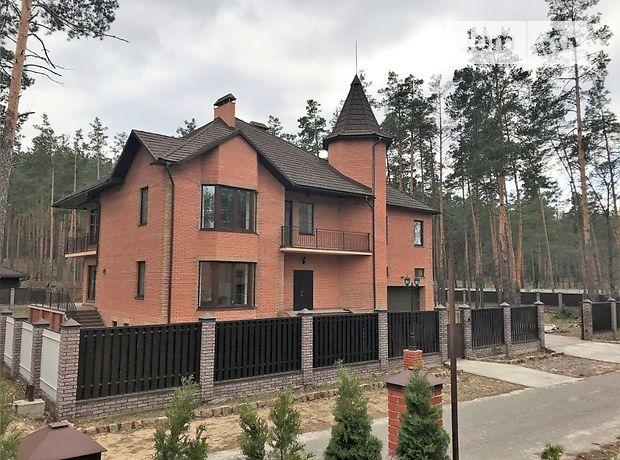 двухэтажный дом с камином, 552.8 кв. м, кирпич. Продажа в Мощуне (Киевская обл.) фото 1