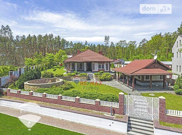 одноэтажный дом с камином, 380 кв. м, кирпич. Продажа в Стоянке (Киевская обл.) фото 1