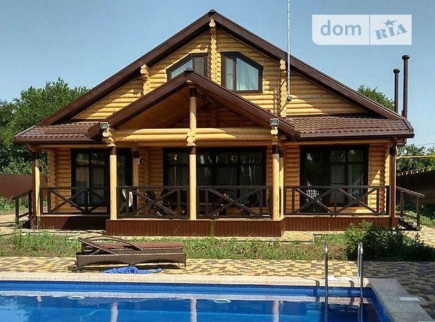 двоповерховий будинок з терасою, 180 кв. м, зруб. Продаж у Києво-Святошинську фото 1