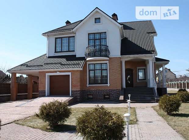 двухэтажный дом с камином, 601 кв. м, кирпич. Продажа в Петропавловской Борщаговке (Киевская обл.) фото 1