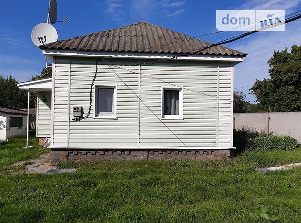 одноэтажный дом с садом, 55 кв. м, дерево и кирпич. Продажа в Вировке (Сумская обл.) фото 1