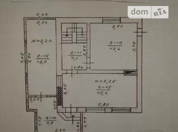 двухэтажный дом с верандой, 180 кв. м, кирпич. Продажа в Костополе фото 1