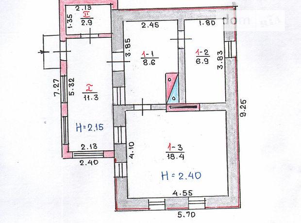 Продаж будинку, 48м², Дніпропетровська, Кривий Ріг, Каширская улица