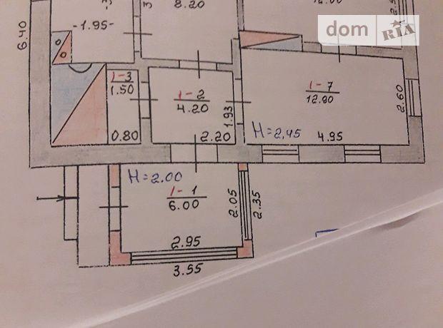 одноповерховий будинок з садом, 50 кв. м, цегла. Продаж в Ванжулові (Тернопільська обл.) фото 1