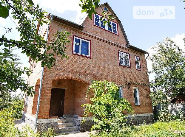 двухэтажный дом с садом, 150 кв. м, кирпич. Продажа в Лубнах фото 1