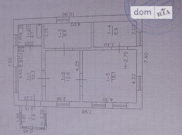Продажа дома, 64.5м², Полтавская, Лубны, р‑н.Лубны, 8 Березня