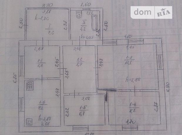 Продаж будинку, 68м², Полтавська, Лубни, р‑н.Лубни, Северина Наливайка