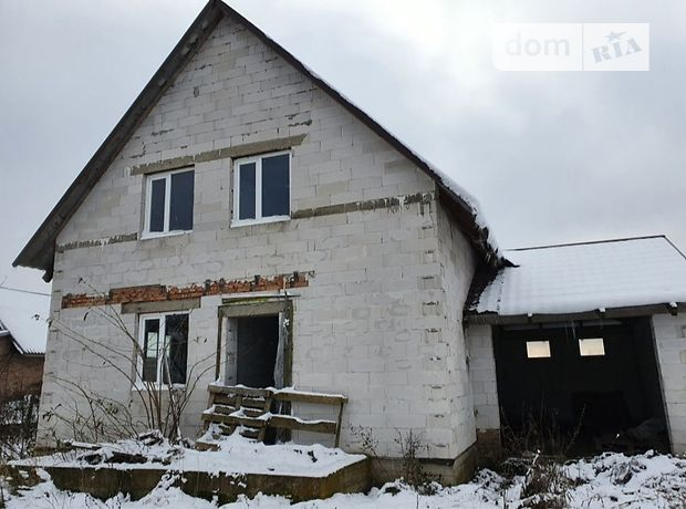 двухэтажный дом с гаражом, 1 кв. м, пеноблок. Продажа в Баеве (Волынская обл.) фото 1