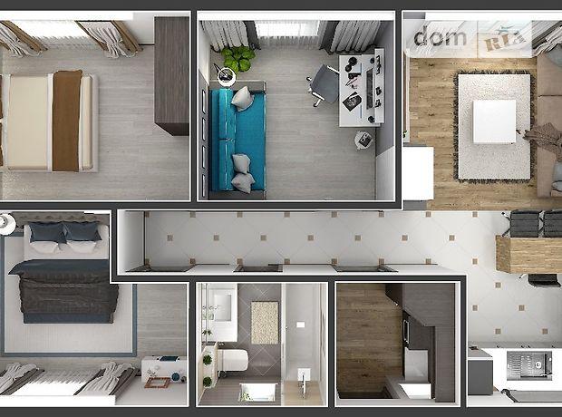 одноэтажный дом с камином, 72 кв. м, кирпич. Продажа в Струмовке (Волынская обл.) фото 1