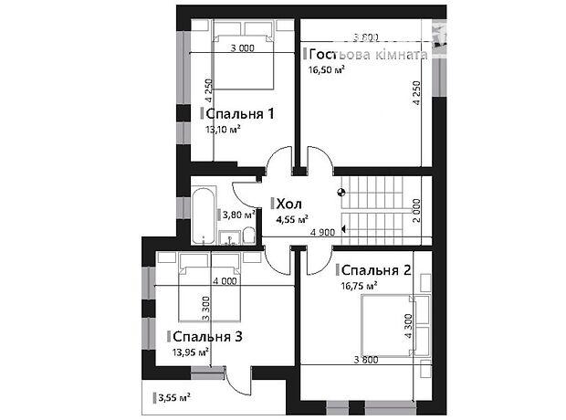 трехэтажный дом, 157.45 кв. м, кирпич. Продажа в Львове район Лычаковский фото 1
