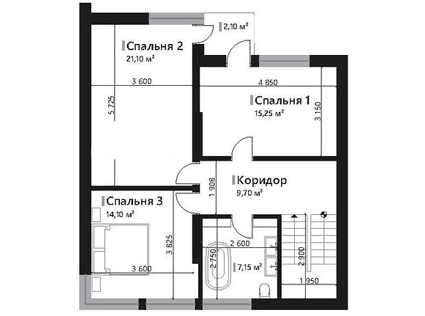 триповерховий будинок, 178.4 кв. м, кирпич. Продаж в Львові, район Личаківський фото 1