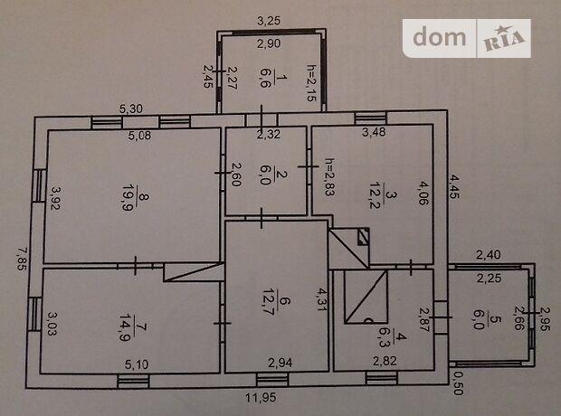 одноэтажный дом с мебелью, 84 кв. м, кирпич. Продажа в Старой Чертории (Житомирская обл.) фото 2