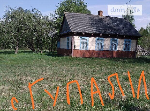 одноэтажный дом, 60 кв. м, дерево и кирпич. Продажа в Любомле район Любомль фото 1