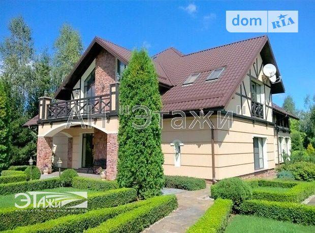 трехэтажный дом, 350 кв. м, пенобетон. Продажа в Макарове район Макаров фото 1