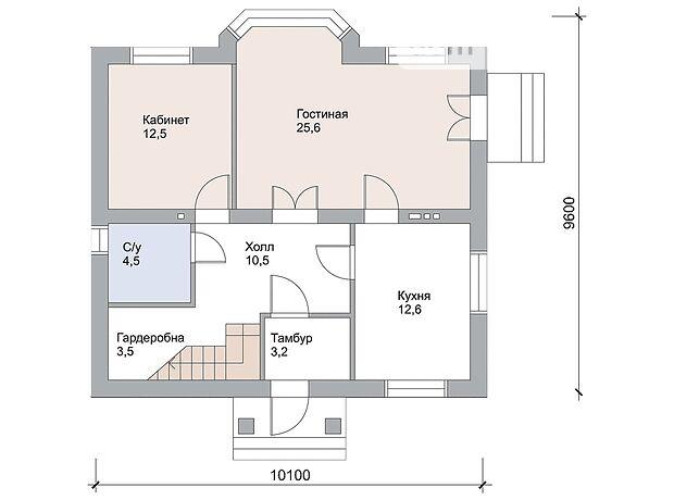 двухэтажный дом, 163 кв. м, пеноблок. Продажа в Макарове район Макаров фото 1