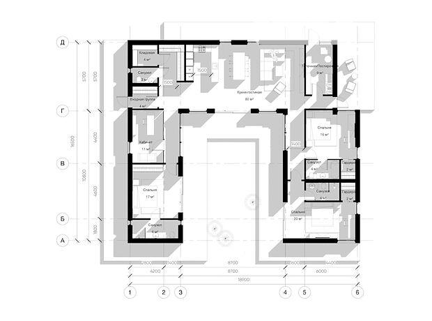 двухэтажный дом, 182 кв. м, керамический блок. Продажа в Макарове район Макаров фото 1