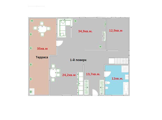 двухэтажный дом, 251 кв. м, пеноблок. Продажа в Макарове район Макаров фото 1
