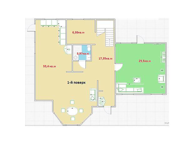 двухэтажный дом, 217 кв. м, пеноблок. Продажа в Макарове район Макаров фото 1