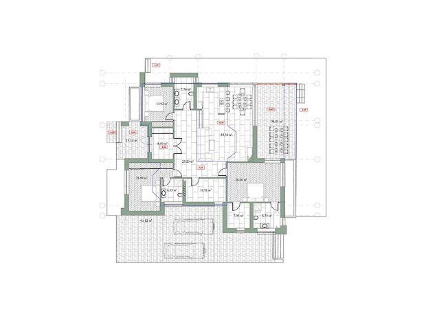двухэтажный дом, 191 кв. м, пеноблок. Продажа в Макарове район Макаров фото 1