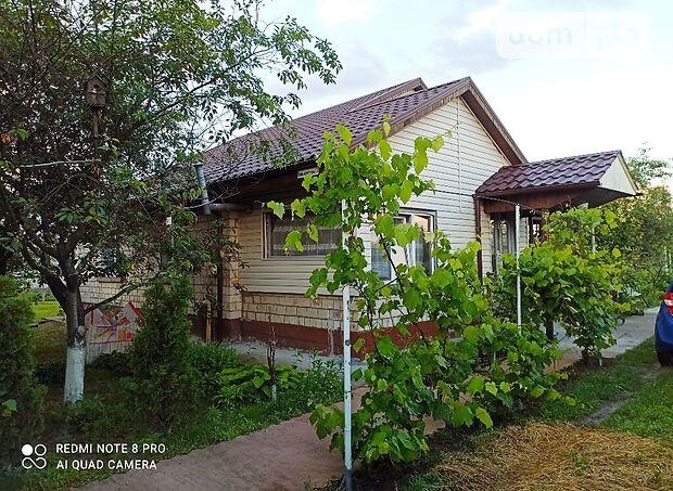 одноэтажный дом с садом, 80 кв. м, кирпич. Продажа в Нежиловичах (Киевская обл.) фото 1