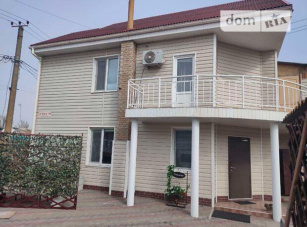 двухэтажный дом с террасой, 100 кв. м, шлакобетон. Продажа в Белосарайской Косе (Донецкая обл.) фото 1