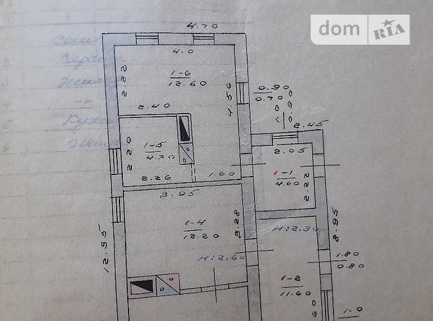 одноэтажный дом, 1460 кв. м, кирпич. Продажа в Городище (Днепропетровская обл.) фото 1