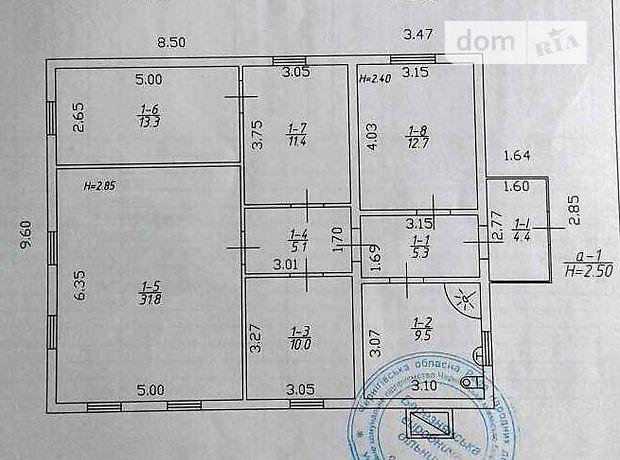 Продажа дома, 104м², Черниговская, Мена, c.Березна