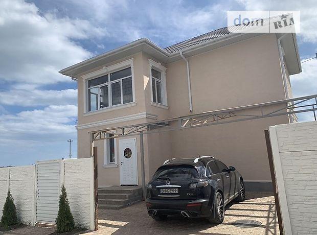 двухэтажный дом с балконом, 160 кв. м, газобетон. Продажа в Червоном Хуторе (Одесская обл.) фото 1