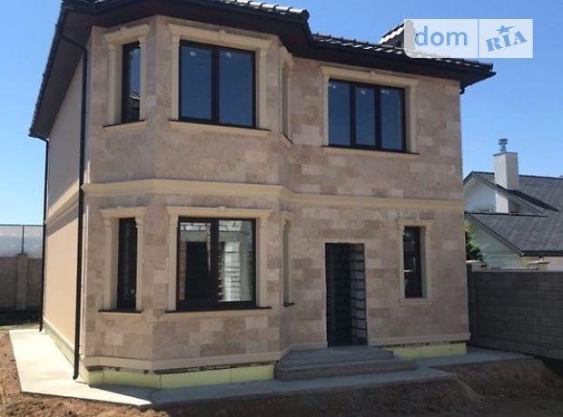 двухэтажный дом с черновой отделкой, 135 кв. м, газобетон. Продажа в Одессе район Совиньон фото 1