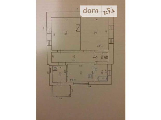 одноэтажный дом, 61.4 кв. м, кирпич. Продажа в Полтаве район Горбаневка фото 1
