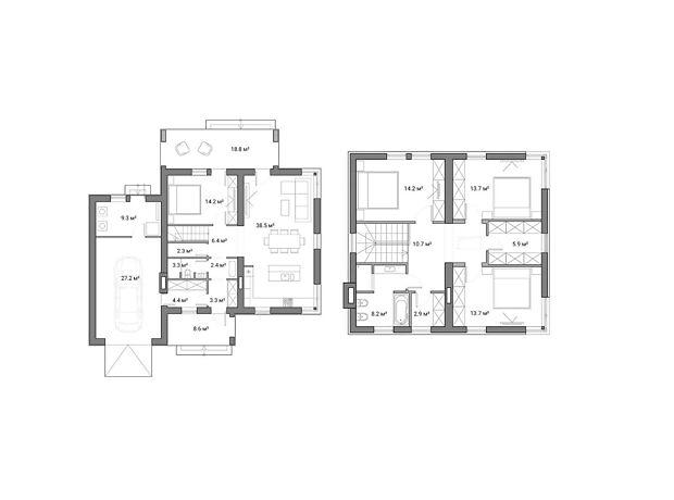 двухэтажный дом, 186 кв. м, кирпич. Продажа в Полтаве район Институт связи фото 1