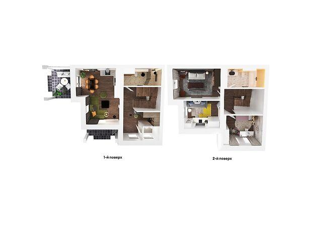 двухэтажный дом, 102.9 кв. м, газобетон. Продажа в Полтаве район Институт связи фото 1