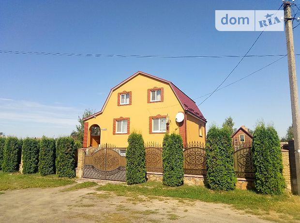 двоповерховий будинок з терасою, 201 кв. м, пеноблок. Продаж в Рокитному, район Рокитне фото 1