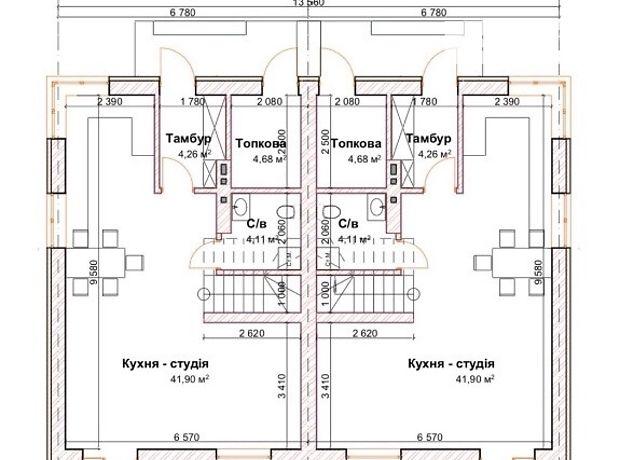 двухэтажный дом с террасой, 127 кв. м, кирпич. Продажа в Ровно район Счастливое фото 4