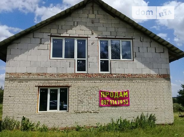 одноэтажный дом с черновой отделкой, 200 кв. м, кирпич. Продажа в Тайкурах (Ровенская обл.) фото 1