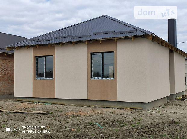 одноэтажный дом с черновой отделкой, 90 кв. м, кирпич. Продажа в Ровно район Ювилейный фото 1