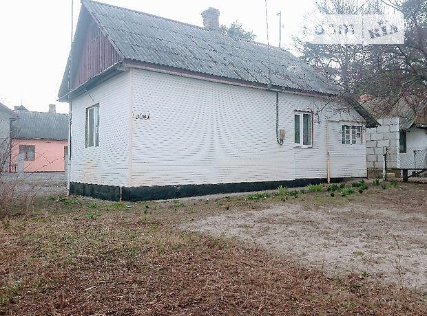 одноэтажный дом с садом, 60 кв. м, дерево и кирпич. Продажа в Сарнах район Сарны фото 1