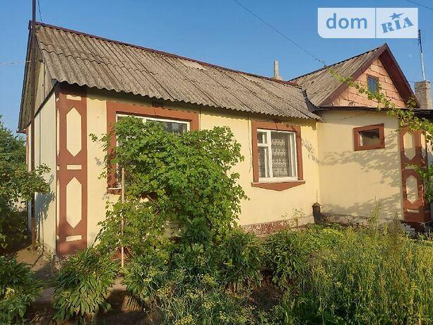 одноэтажный дом с садом, 100 кв. м, дерево и кирпич. Продажа в Украинске (Донецкая обл.) фото 1