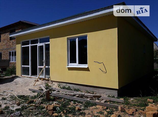 одноэтажный дом с черновой отделкой, 75 кв. м, кирпич. Продажа в Симферополе район Каменка фото 2