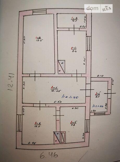 одноэтажный дом с садом, 66.6 кв. м, ракушечник (ракушняк). Продажа в Снигиревке район Снигиревка фото 1
