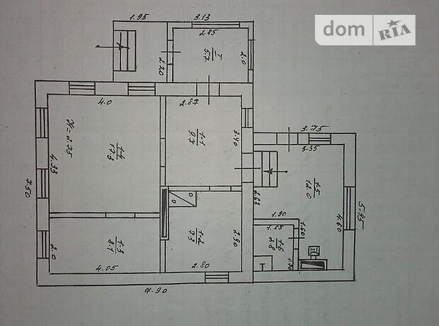 одноэтажный дом с садом, 63 кв. м, кирпич. Продажа в Станично-Луганском район Станично-Луганское фото 1