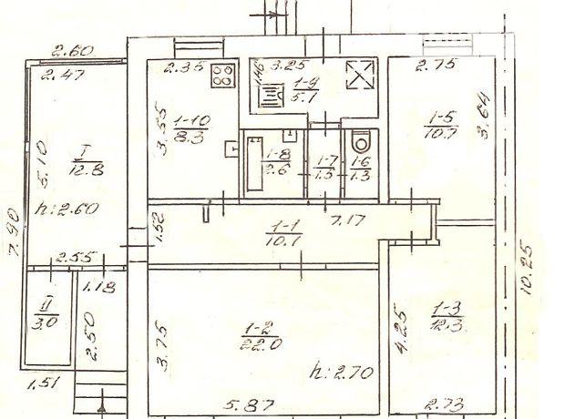 одноэтажный дом с садом, 90 кв. м, кирпич. Продажа в Сумах район Ковпаковский фото 1