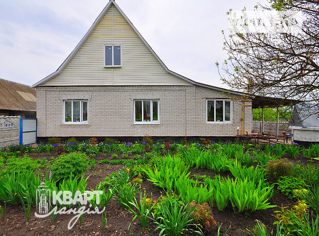 одноэтажный дом, 120 кв. м, кирпич. Продажа в Плоском (Киевская обл.) фото 1