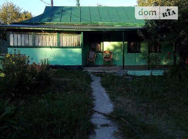 одноэтажный дом с садом, 68 кв. м, дерево и кирпич. Продажа в Веселом Куте (Киевская обл.) фото 1