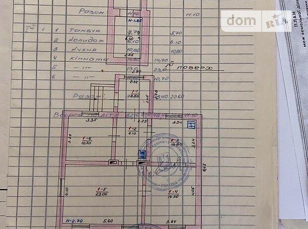 одноэтажный дом, 74 кв. м, кирпич. Продажа в Тернополе район Авторынок фото 1