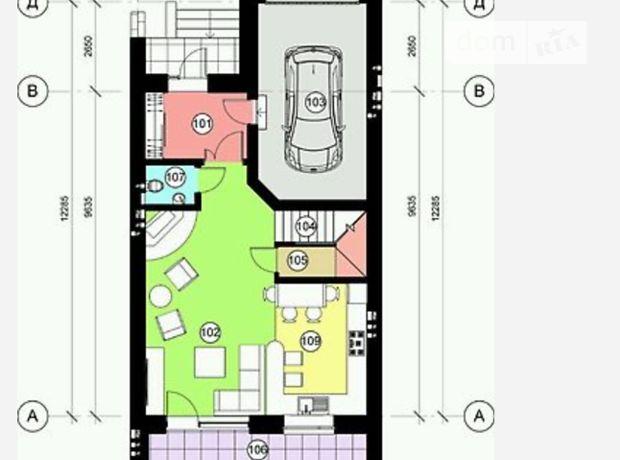 двухэтажный дом с гаражом, 160 кв. м, кирпич. Продажа в Байковцах (Тернопольская обл.) фото 1